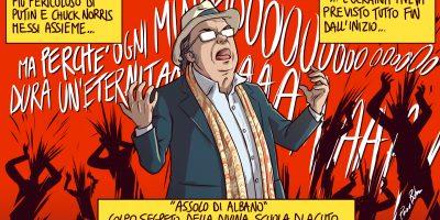Il pericoloso Al Bano minaccia l'Ucraina
