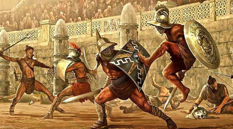 combattimenti gladiatori roma