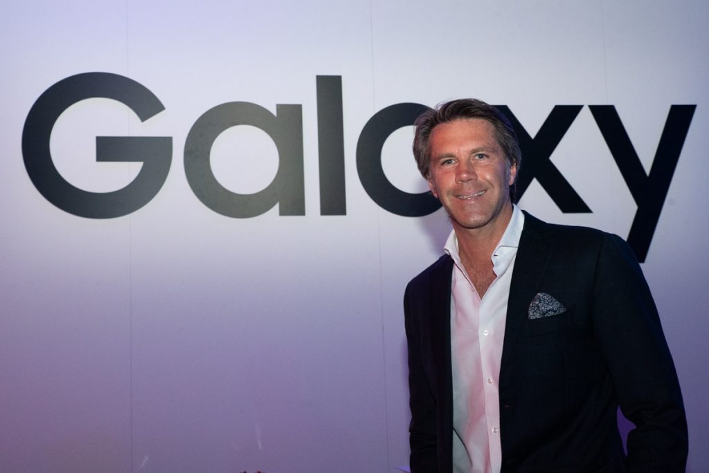 Emanuele Filiberto - Samsung Galaxy A event
