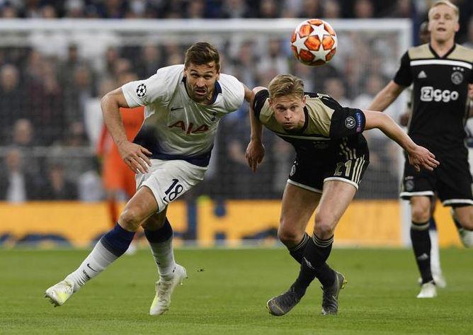 Ajax Tottenham 0-1