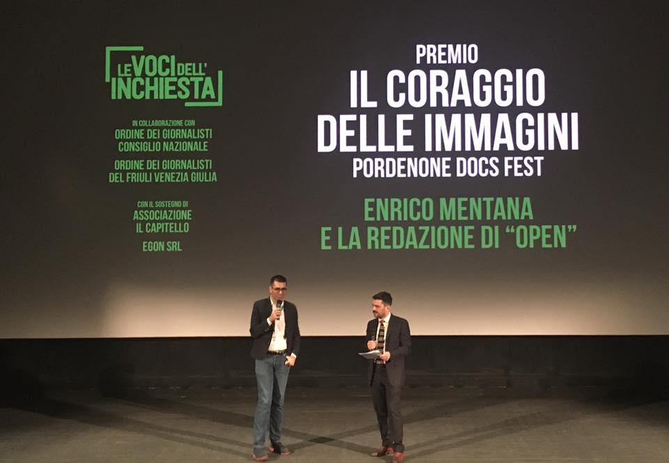 open Enrico Mentana