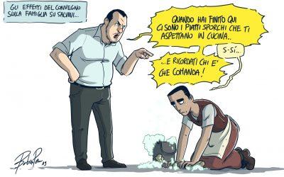 """Salvini e """"Cenerentola"""" Di Maio"""