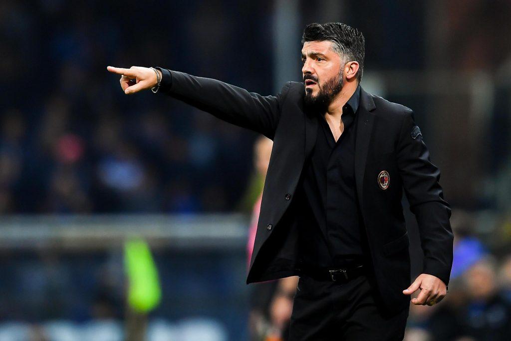 Milan-Lazio, Gennaro Gattuso