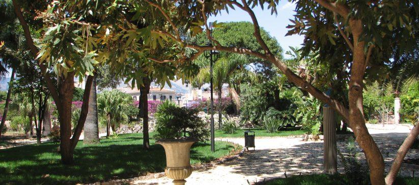 Giardini reali, Palazzo dei Normanni