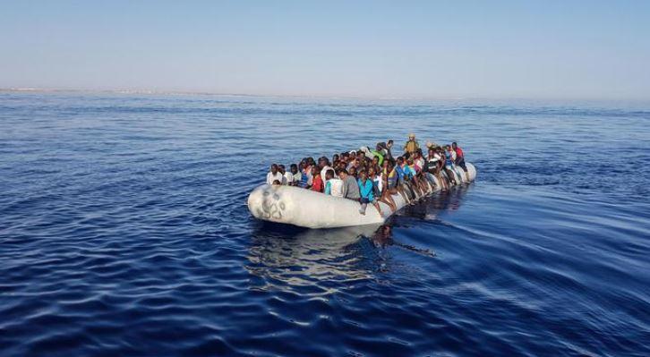 -88% di migranti nel Mediterraneo