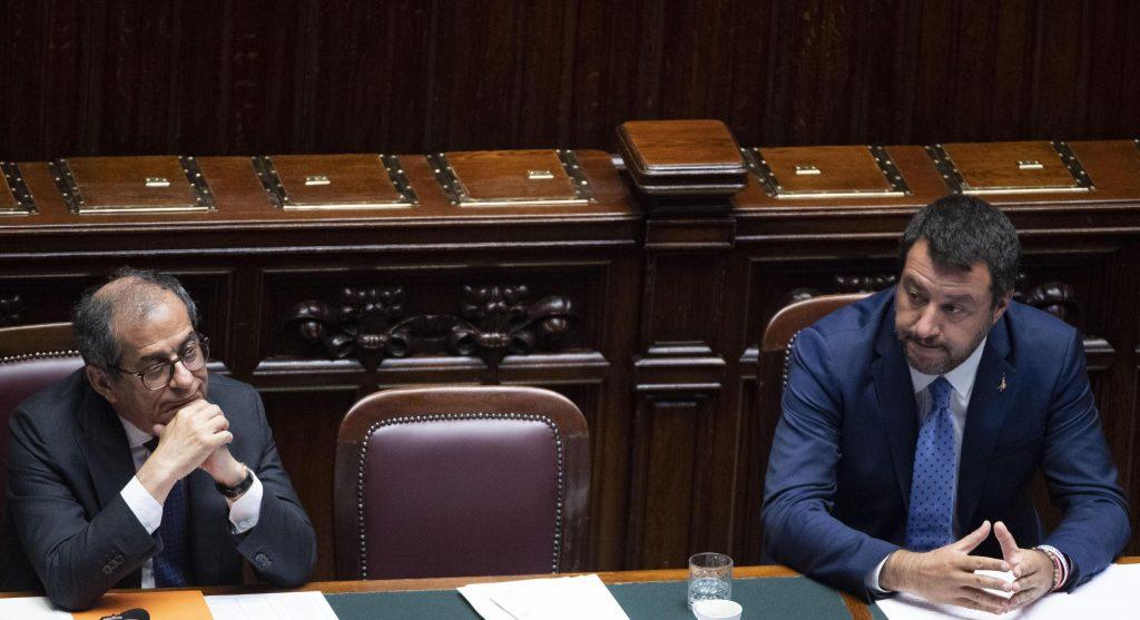 Salvini flat tax tria