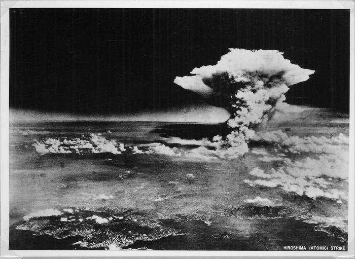 La bomba atomica sganciata su Hiroshima il 6 agosto 1945