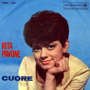 copertina disco rita pavone