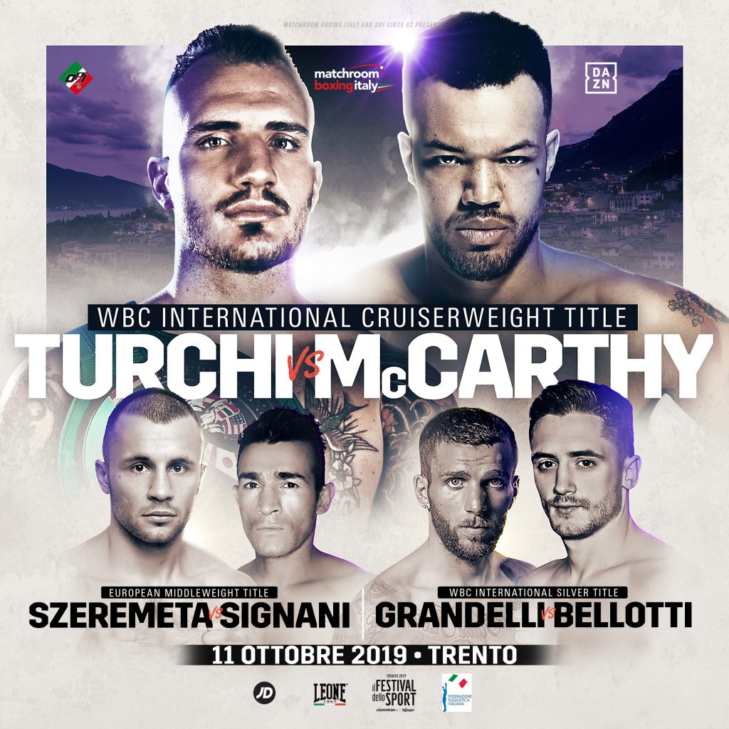 Fabio Turchi VS  Tommy McCarthy