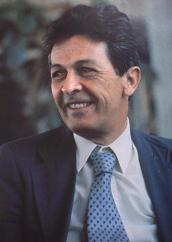 L'allora segretario del Pci Enrico Berlinguer