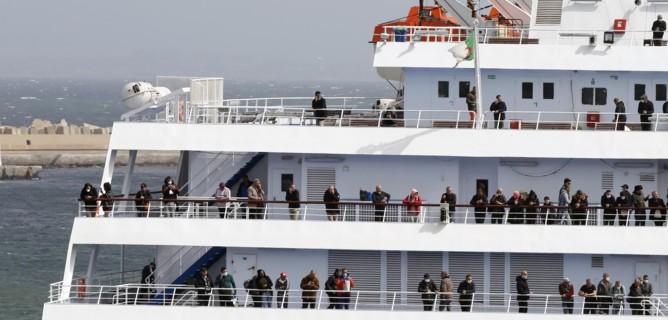 quarantena crociera migranti
