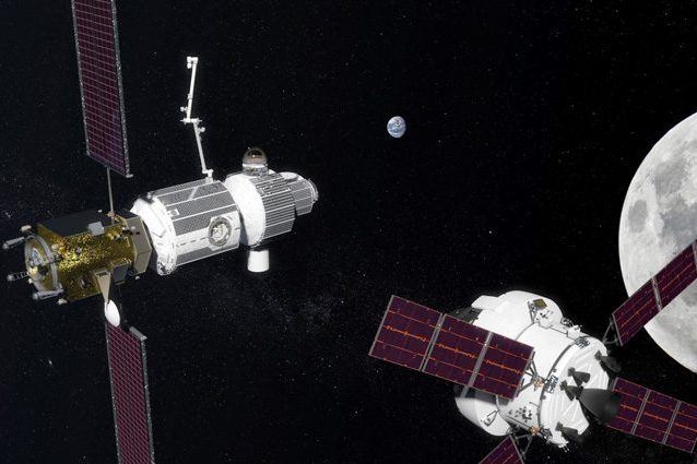 Alenia stazione lunare