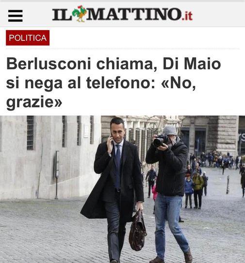 Di Maio Berlusconi