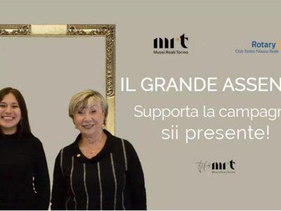 """Musei Reali, lanciata la maratona di donazioni per """"Il Grande Assente"""""""