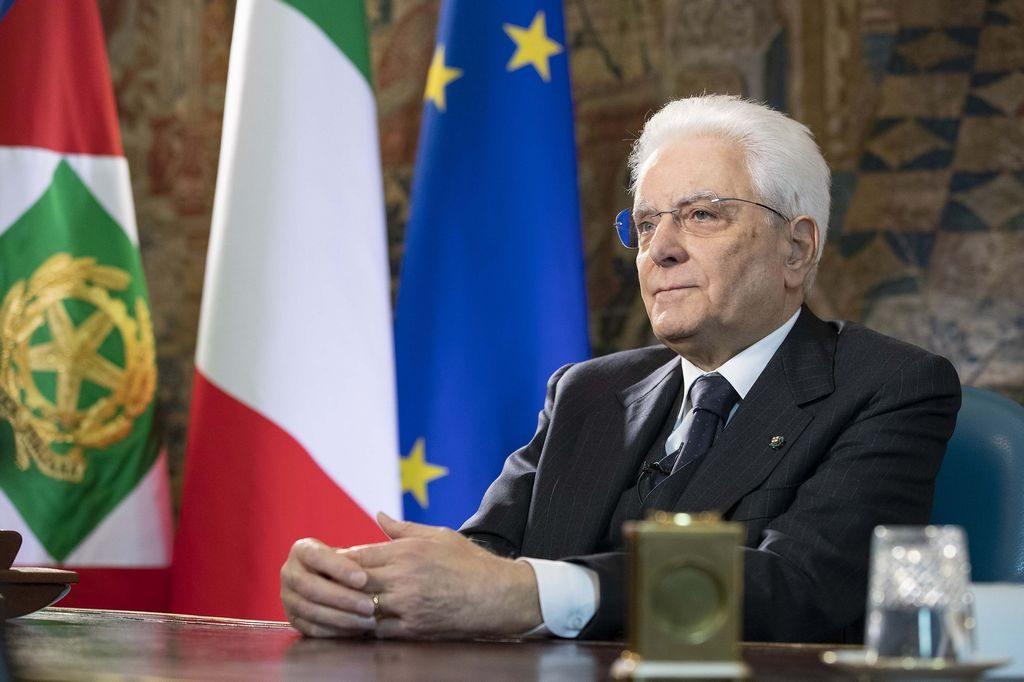 Il Presidente della Repubblica Sergio Matarella