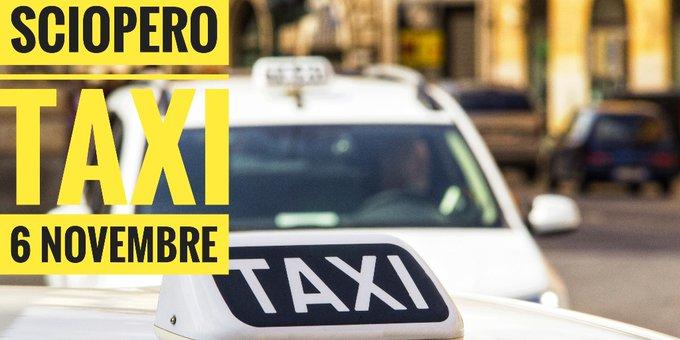 sciopero tassisti