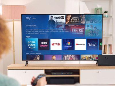 Accordo Sky-Amazon, da oggi la app Prime Video debutta su Sky Q