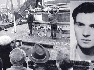 Accadde oggi… nel 1969 lo studente Jan Palach si dà fuoco a Praga