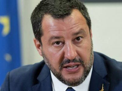 """Salvini """"Da ministro ho difeso il mio Paese"""" A processo per nave Gregoretti"""