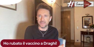 """Scanzi dopo il vaccino AstraZeneca: """"Gli italiani mi dovrebbero ringraziare"""""""