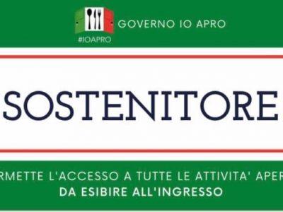 Nasce il Governo IO APRO: 26 Aprile riaprirà tutta l'Italia senza coprifuoco