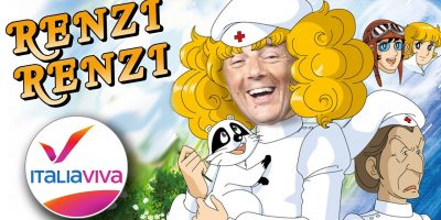 |Video| Matteo Renzi indossa i panni dolce Candy Candy