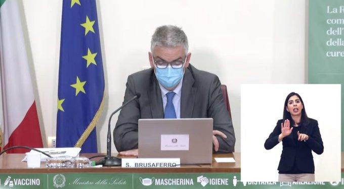 Vaccini: Silvio Brusaferro, presidente dell'ISS