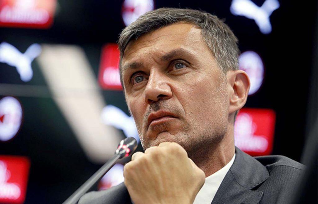 Paolo Maldini, direttore tecnico del Milan