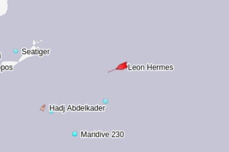 Migranti - La posizione degli 88 naufraghi nelle acque a largo di Malta (Twitter)