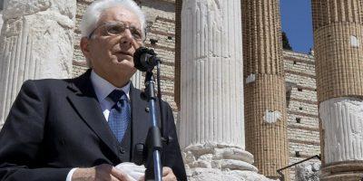 """Mattarella: """"Rendere il Paese più moderno garantendo la coesione"""""""
