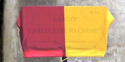 Figuraccia a Roma: nome sbagliato sulla targa dedicata a Ciampi