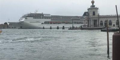 Venezia, dal primo agosto bandite le navi da crociera in Laguna