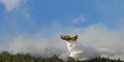 Notte di fuoco nell'Oristanese, evacuati gli abitanti della zona