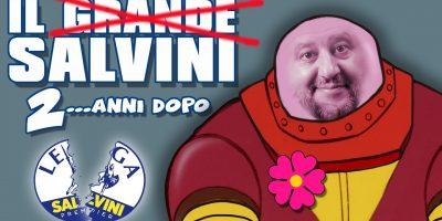 |VIDEO| Il grande Mazinga Z 'Salvini' diventa il buffo Boss Robot