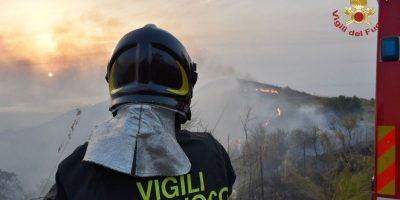 Incendi, Coldiretti: il 60% dei roghi è causato dall'uomo