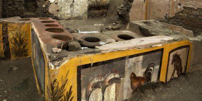 Il 12 agosto ha aperto l'eccezionale tavola calda di Pompei