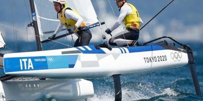 Tokyo 2020, oro per Caterina Banti e Ruggero Tita nella vela Nacra 17