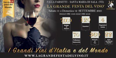 In arrivo la grande festa del vino