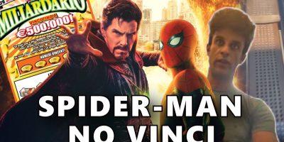 |VIDEO| Spider-Man come il tabaccaio: ruba il gratta e vinci ma si pente