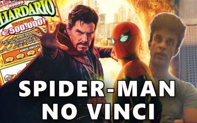 VIDEO  Spider-Man come il tabaccaio: ruba il gratta e vinci ma si pente