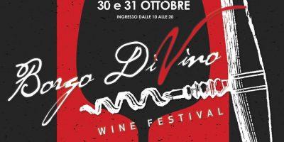 """Torna il wine festival """"Borgo DiVino"""""""