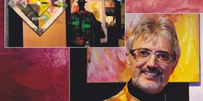 Maurizio D'Andrea, l'artista vulcanico tra numeri e colori